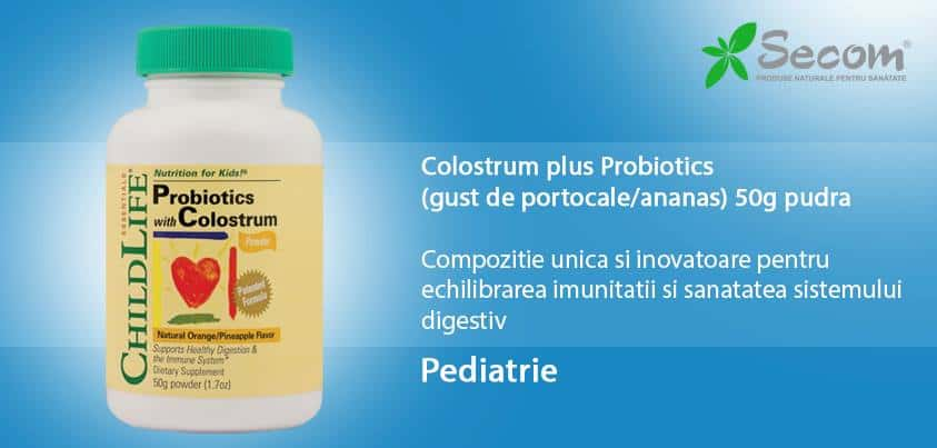 Colostrum cu probiotice Secom