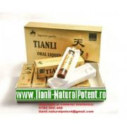 Tian Li 6 Fiole ORIGINAL capac auriu (Tratament naturist, erectie, pastile potenta - impotenta)