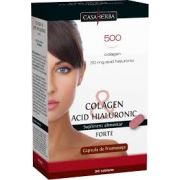 Colagen & Acid Hialuronic Forte 30 capsule Casa Herba.