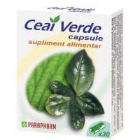 Ceai Verde, 30 capsule, Parapharm