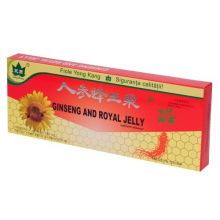 Ginseng, royal jelly 10fiole 10ml buc yong kang