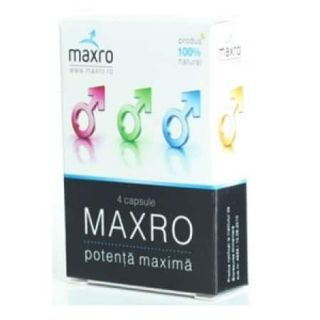 Maxro, 4 capsule, potenta maxima, Mad House.