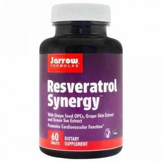 Resveratrol Synergy 200mg, 60 tablete, Jarrow Formulas