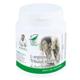 L-arginina si Tribulus Terrestris
